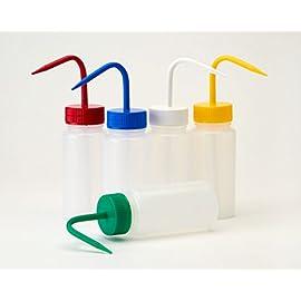 HDPE plastica confezione da 10 bocca larga 500 ml Azlon bottiglia quadrata 10