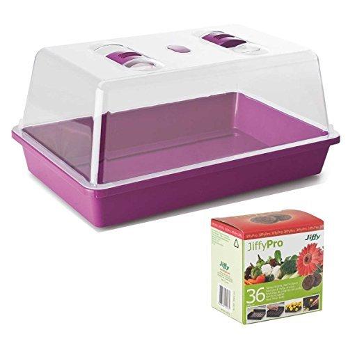 jiffy-propagateur-violet-36-pastilles-de-tourbe