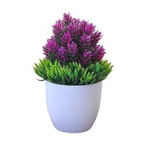 DaoRier Flores Artificiales Ideal para