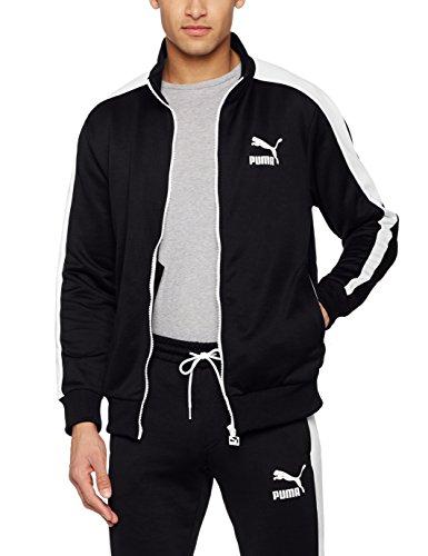 Puma Herren Track Jacket (Puma Herren Archive T7 Track Jacket Jacke, Puma Black, L)