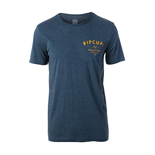 Rip Curl Coast line Pocket Thé T-shirt mood indigo mar