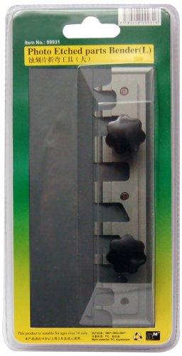 Master Tools 09931 - Modellbauzubehör Photo Etched parts Bender, Biegehilfe für Fotoätzteile, L, grau