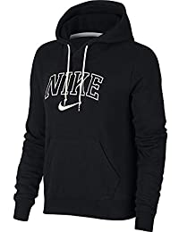 new product 95601 6f7e5 Nike W NSW Hoodie Vrsty, Felpa Donna, Black Sail, L