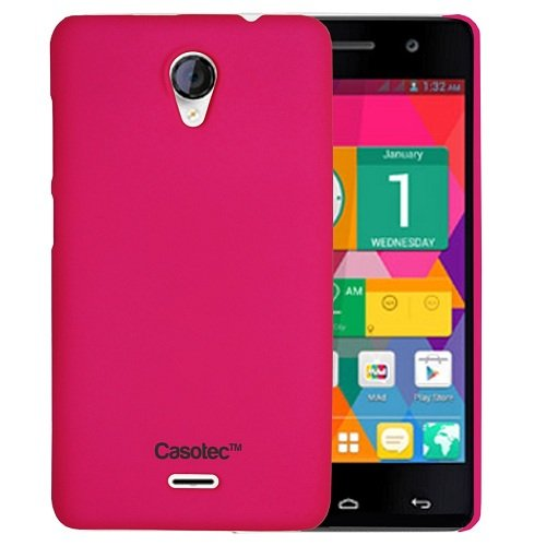 Casotec Ultra Slim Hard Shell Back Case Cover for Micromax Canvas Unite 2 A106 - Cool Pink  available at amazon for Rs.175