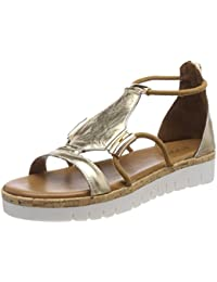 8697, Sandales Bout Ouvert Femme, Beige (Coconut 12058623), 35 EUInuovo