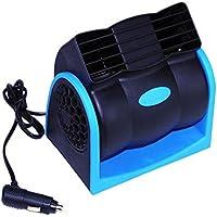 Mr. Fragile Coche 12V Hoja De Aire Acondicionado Ventilador Silencioso Coche Eléctrico Ventilador Super Potente Ajustable Velocidad Coche Suministros