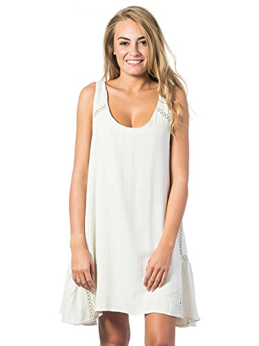 Rip Curl Las Palmas Dress Robe Femme VANILLA