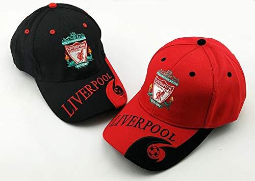WEII Fußballfans Baseball Caps Fußball Clubs Sun Ducks Outdoor Sports Hüte,Liverpool schwa,Einheitsgröße -