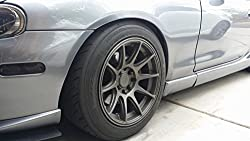 NEW 2017 Rimblades Car Tuning Alloy Wheel Rim Protectors Tire Guard Line Rubber (METALIC SILVER)