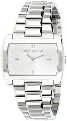 Adolfo Dominguez Watches 69017 - Reloj de Señora cuarzo brazalete metálico Plata