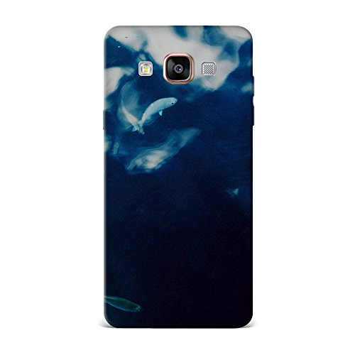 Samsung A9 Case, Samsung A9 Hard Protective SLIM Printed Cover [Shock Resistant Hard Back Cover Case] for Samsung A9 - Water Lake Fish Nature Indigo Blue  available at amazon for Rs.375