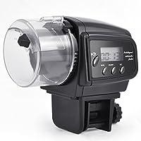 Digiflex Distributeur Automatique de Nourriturepour Aquariums avec Une minuterie d'Affichage LCD et Un Anti colmateur