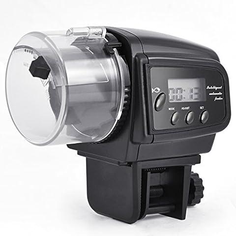 DIGIFLEX Distributeur automatique de nourriturepour aquariums avec une minuterie d'affichage
