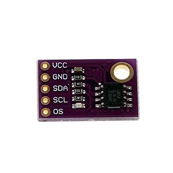 Daorier module de capteur de température de haute précision avec IIC I2C pour Arduino