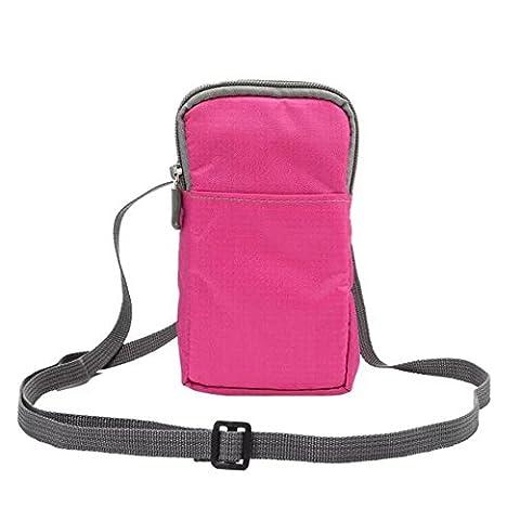Gendax Multifunction Sport Waist Bag,Water Resistant Nylon
