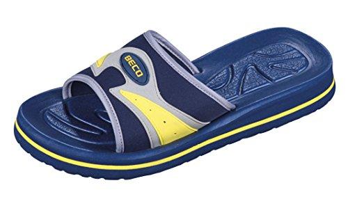 Beco Unisex Slipper Blau