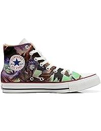 Converse All Star Zapatos Personalizados Unisex (Producto Artesano) Demon Style