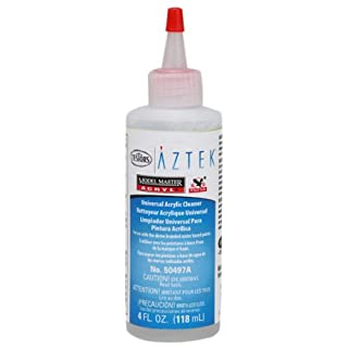 Aztek 4 oz Acrylic Airbrush Cleaner,White