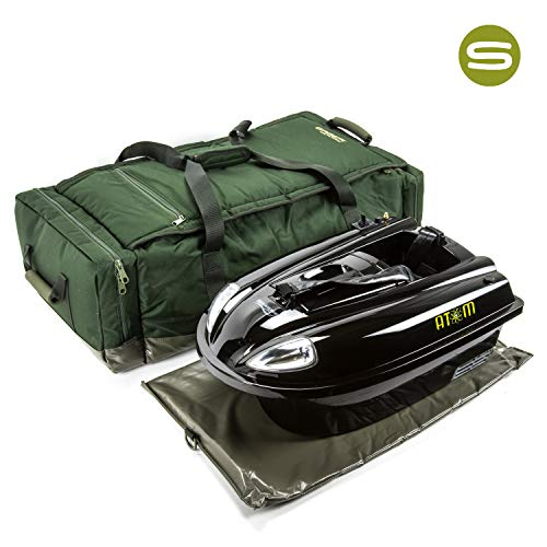 Saber Medium Deluxe Bait Boat Bag Carp Fishing Luggage Waverunner, Angling Technics, Viper Bait Boat Bag