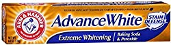 2 Pack - ARM & HAMMER Advance White Extreme Whitening with Stain Defense Toothpaste, 6 oz