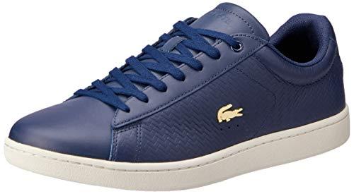 Lacoste Damen Carnaby Evo 119 3 SFA Sneaker, Blau (NVY/Off Wht J18), 38 EU