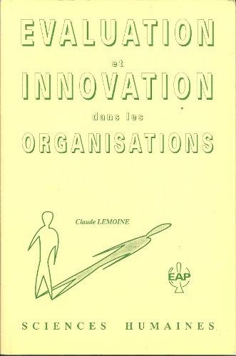 Évaluation et innovation dans les organisations (Sciences humaines)