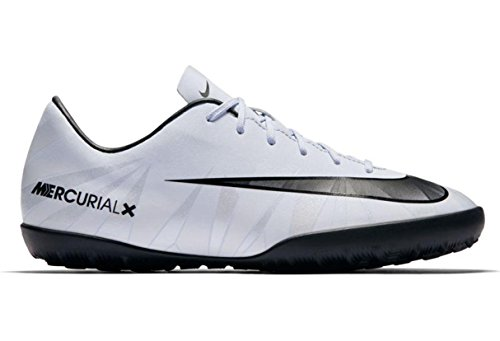 Botas Fútbol Nike Mercurial Victory 6 Cr7 Blanco Suela Turf Niño