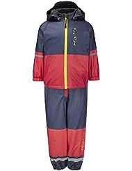 Kozi Kidz Vestis Lined - Traje / Body de náutica para niño, color rojo, talla UK: 80 cm