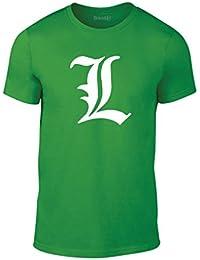 Brand88, Death Note L, Erwachsene Mode T-Shirt