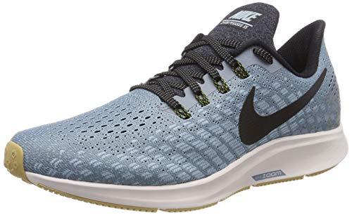 Nike Air Zoom Pegasus 35, Scarpe da Running Uomo, Blu (Indigo Force/White/Photo Blue Void 404), 42 EU
