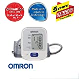 #1: Omron Automatic Blood Pressure Mointor HEM-7121 With Omron AC-Adapter-S for Blood Pressure Monitor - 6 Volts (Health Care Combo Pack)