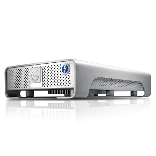Affordable G-Technology G-DRIVE Thunderbolt USB 3.0 4000 GB External Hard Drive – Silver Discount