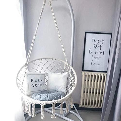 mysticall Swing-Hängematte im Makramee-Stil im nordischen Stil für Wohnzimmer-Lesebalkon im Freienrest