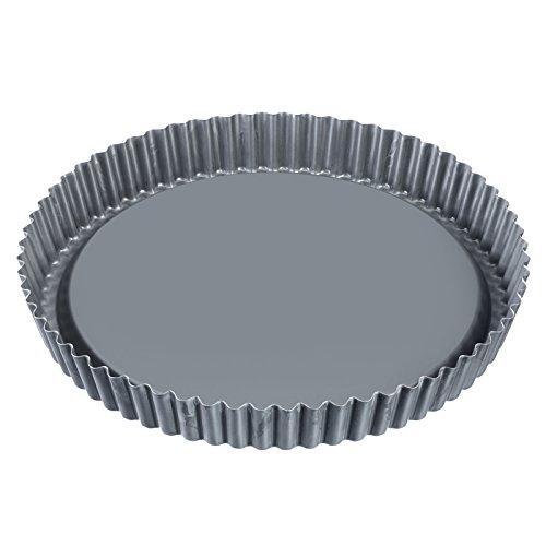 Westmark Obstbodenform, Rund, Durchmesser: 28 cm, Antihaftbeschichtet, Kaltgewalzter Stahl, Backprofi, Anthrazit, 33942260