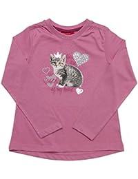Salt & Pepper Longsleeve Cats & Dogs Katze, T-Shirt Fille