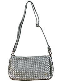 Bulchee Silver Grey Sling Bag (Silver)-8907382012893