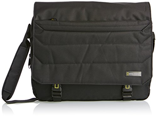 national-geographic-messenger-bag-sac-a-bandouliere-noir-schwarz-taille-unique