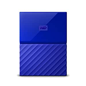 WD 1 TB My Passport Portable Hard Drive - Blue