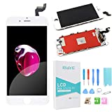 Ibaye Für iPhone 6S Weiß LCD Touchscreen Display Ersatzbildschirm Digitales-Glasobjektiv Reparatur-Wiedereinbau mit Werkzeug …