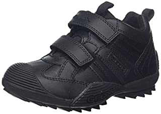 Geox J Savage Boys Low-Top Trainers, Black (Black 9999), 2.5 UK (35 EU) (B0053O136S) | Amazon price tracker / tracking, Amazon price history charts, Amazon price watches, Amazon price drop alerts