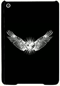 Attractive multicolor printed protective REBEL mobile back cover for Apple Ipad Mini D.No.N-T-3915-IM