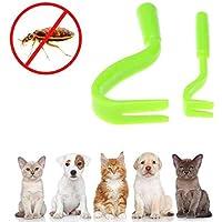 KOBWA - Juego de 2 Herramientas de extracción de garrapatas pequeñas y Grandes para Perros, Gatos y Seres Humanos