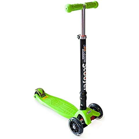 Patinete plegable con 3 ruedas para niños Twist & Roll.