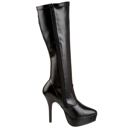 Pleaser - Indulge-2000, Klassischer Stiefel Donna Nero