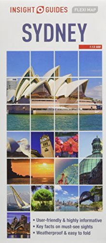 Insight Guides Flexi Map Sydney (Insight Flexi Maps)