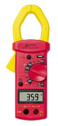 AMPROBE ac68 C true-rms 600 A Clamp Meter by Amprobe (600 Rms)