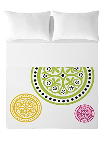 Devota & Lomba Ander Set di lenzuola Cama 180 (260 x 270 cm + 2/45 x 110 cm) multicolore