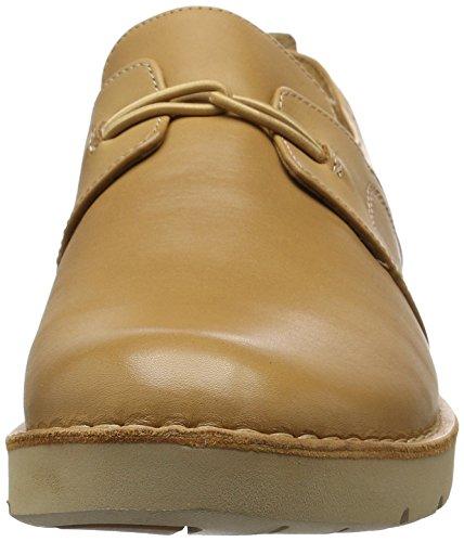 Clarks Un Ava, Chaussures à lacets   Femme Marron (Light Tan Lea)