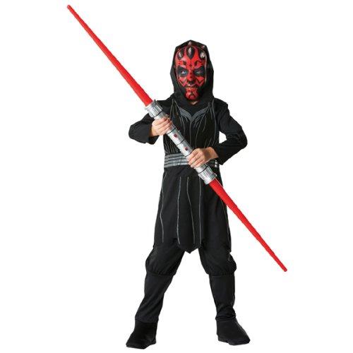 PARTY DISCOUNT NEU Kinder-Kostüm Darth Maul Box Set, Gr. M (Kinder Kostüm Maul Darth)