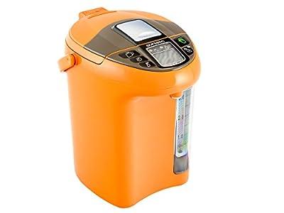 Thermo pot Bouteille-Bouilloire Electrique, 4,3 L Orange, 750 W